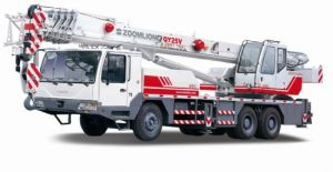 Zoomlion New Design 50 Tons Truck Mounted Crane / Truck Crane pictures & photos