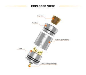 100% Original 3.5ml Geekvape Medusa Reborn Rdta Tank pictures & photos