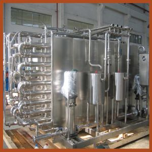 Pipe UHT pasteurizer complete set pictures & photos