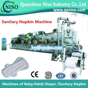 China Semi-Automatic Sanitary Pad Machine Manufacture (HY400) pictures & photos