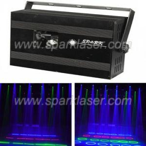 RGB Rain Drop Laser Beam Show