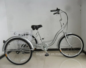 "24"" S Type Frame Tricycle with Shimano 6speed (FP-TRCY038) pictures & photos"