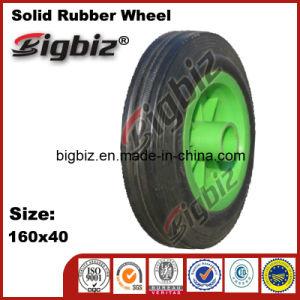 Popular 160X40 Wheelbarrow Rubber Wheels pictures & photos