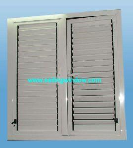 Aluminium Louver Windows - 45 Series Shutter Window pictures & photos