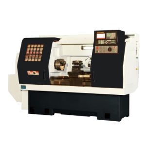 Flat Bed Linear CNC Lathe HCl400 pictures & photos