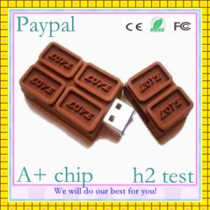 High Quality Chocolate USB Stick (GC-H005) pictures & photos