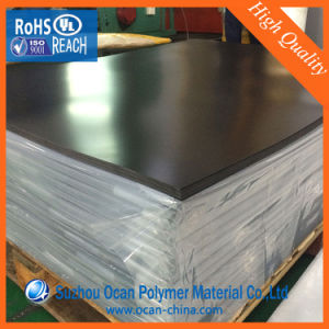 1400X0.3mm Frosetd Black Rigid PVC Film for Cooling Tower Filling pictures & photos