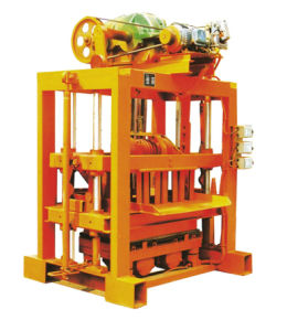 Zcjk Manual Concrete Brick Block Making Machine (QTJ4-40II) pictures & photos