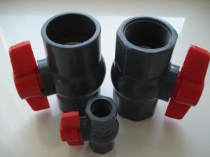 PVC Octagonal Ball Valve with Middle and High Quality pictures & photos