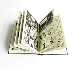 Black and White Comic Book Printing Services pictures & photos