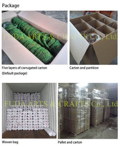 Coco Fiber Lining Wicker Rattan Basket pictures & photos
