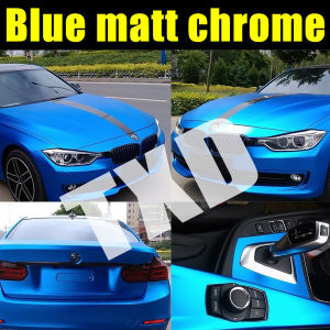 Blue Matt Metallic Film for Car Wrap