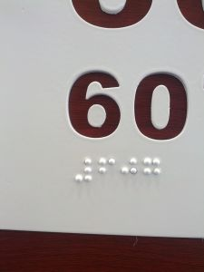 Braille Wayfinding pictures & photos