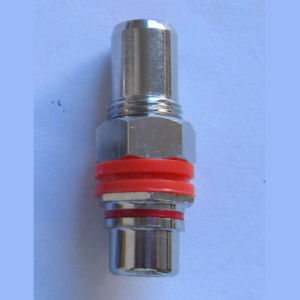 RCA Female to RCA Female Connector (1002N) pictures & photos