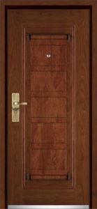 Steel Wooden Armored Door / Armored Door (YF-G9009) pictures & photos