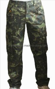 Men′s Camouflage Cargo Pants