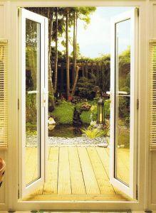America Villa Designed Aluminum French Patio Door pictures & photos