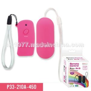 10-Function Remote Control Bullet Sex Toy (P33-210A-450) pictures & photos