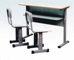 Double Desk and Chair (H+04)