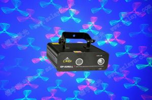 New Rg Grating Pattern Laser Light with 3W LED Background (GP-02RG-L)