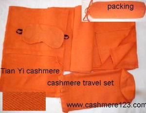 Cashmere Woven Travel Set (TY207) pictures & photos