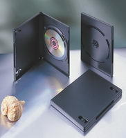 PP 14mm Single Black DVD Case (MD-B114)