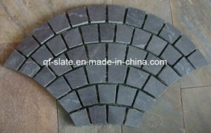 Popular Natural Slate Cube Stone for Garden or Landscape