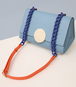Best Selling Summer New Candy Color Crossbody Bag Leather Crossbody Bag (LDO-15354) pictures & photos