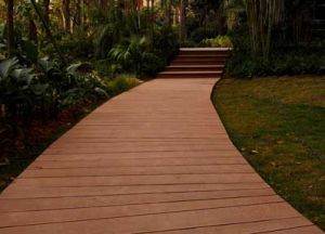 Factory Directly! Popular Outdoor Wood/Bamboo Decking Plastic Wood Decking WPC pictures & photos