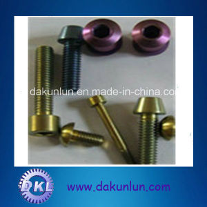 High Precision Color Titanium Nuts and Bolts