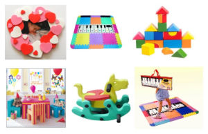 Environmental EVA Plastic Puzzle Toys for Baby Play pictures & photos