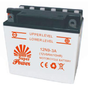 Dry Motorcycle Battery 12N9-3A with CE UL SGS certificate pictures & photos