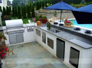 304 Stainless Steel Outdoor Kitchen with BBQ (WH-KO093)