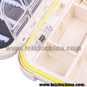 High Quality Waterproof Compartment 15.5*9*4.5cm Fly Fishing Box pictures & photos