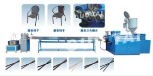 Plastic Rattan Extrusion Line/Plastic Rattan Production Line pictures & photos