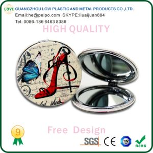 Round Shape Pocket Mirror pictures & photos