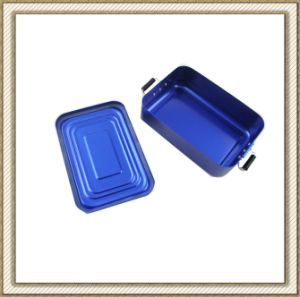 Color Oxidation Aluminum Lunch Box   LFGB Passed pictures & photos
