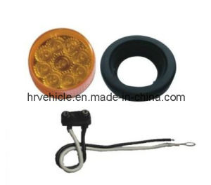 "LED 2"" Round Clearane/Side Marker Light pictures & photos"