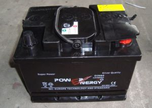 DIN60 12V60ah Dry Charged Lead Acid Solar Battery pictures & photos
