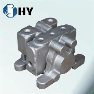 Nodular Cast Iron Resin Sand Casting for Agriculture Hydraulic Valve pictures & photos