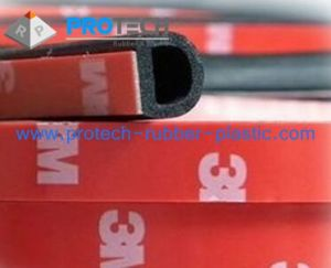 D-Shape Foam Rubber Gaskets/ D-Shape Rubber Seals pictures & photos
