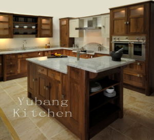Oak Shaker Kitchen Cabinet Design #2012-122 pictures & photos