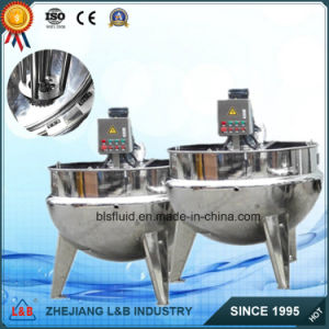 Customized Stainless Steel Double Jacketed Kettle pictures & photos