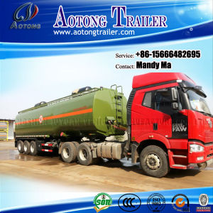 3 Axle Fuel/Petrol Tanker Semi Trailer, Tank Truck Trailer pictures & photos