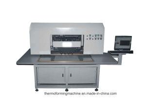 High Speed CNC Leather Hole Punching Processing Cutting Machine of Shoe/Handbag/Seats