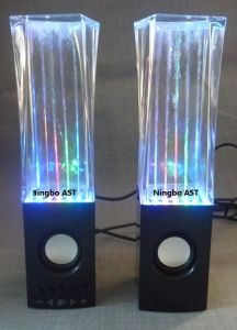 USB Water Dancing Speaks, LED Water Dancing Speaker pictures & photos