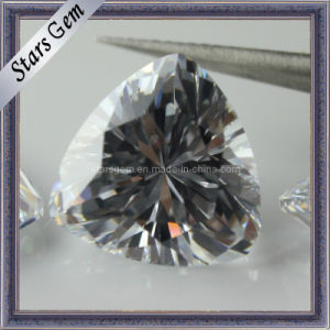 Factory Price Trillian Cut Loose CZ Gemstone Beads pictures & photos