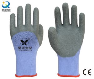 21 Gauge Yarn Latex 3/4 Coated Work Gloves (L018) pictures & photos