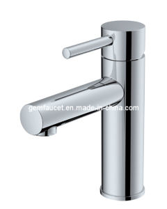 Brass Single Lever Washbasin Mixer Faucet with Good Price in Chrome (32201)