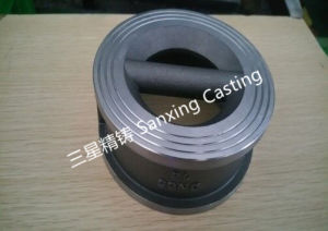 OEM Precision Steel Casting as Valve Plate pictures & photos
